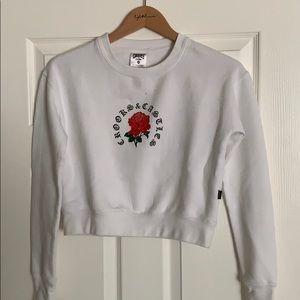 Crooks & Castles Cropped Sweatshirt